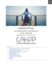 HANDICAP'infos N°1