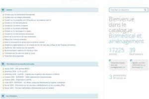 Le catalogue Biomédical et équipement fait peau neuve !