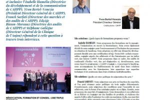 Cahpp dans la revue SIH Solution – Mai Juin Juillet 2019