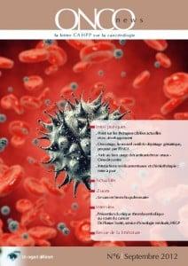 Onconews 6, la lettre Cahpp sur la cancérologie
